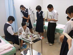 中学2年生 体験学習のため来校 北上中学校の生徒