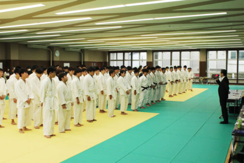 第11回龍澤学館理事長杯争奪盛岡医療福祉専門学校柔道整復学科クラス対抗柔道大会が開催されました!